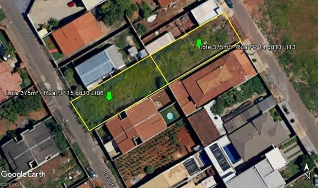 01 lote no Recreio dos Funcionários Públicos, 375m² de área cada um - Foto 6