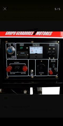 Gerador de energia a Gasolina MG- 6000CLE ( Semi-novo ) na garantia ainda !!!