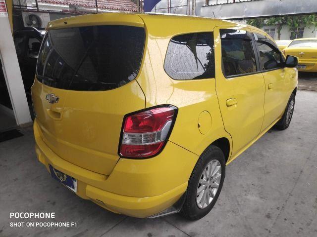 Spin lt 1.8 automatica, ex taxi completa, gnv, aprovação já, s/compr renda, 1° parc 90dias - Foto 3