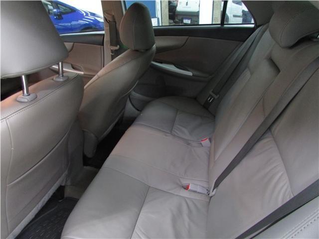 Toyota Corolla 1.8 gli 16v flex 4p automático - Foto 9