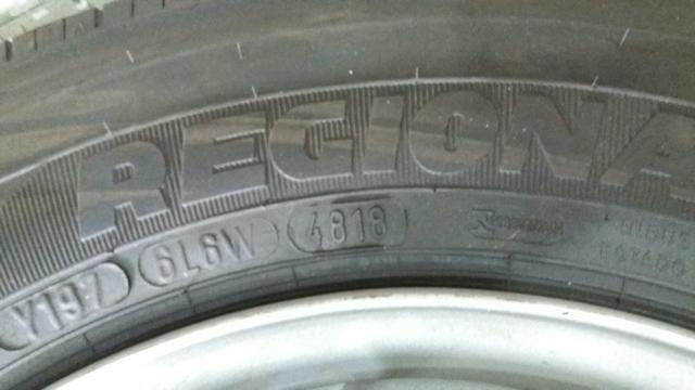 Vendo quatro pneus novos com rodas do acello
