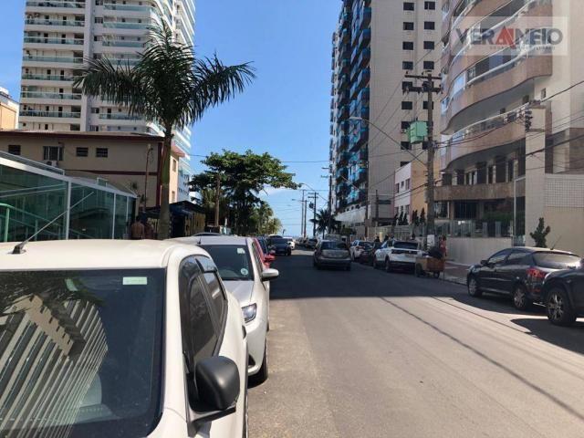 Apartamento com 2 dormitórios para alugar, 99 m² por R$ 3.100,00/mês - Canto do Forte - Pr - Foto 3