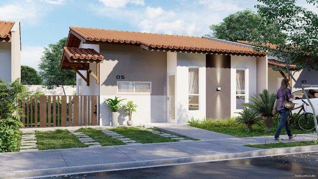34- Construtora Lua Nova- Casas, no Bella Citá, com 2 vagas na garagem e com semi suíte - Foto 7