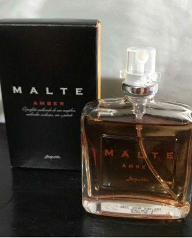 Deo colônia masculina malte amber jequiti - Foto 2