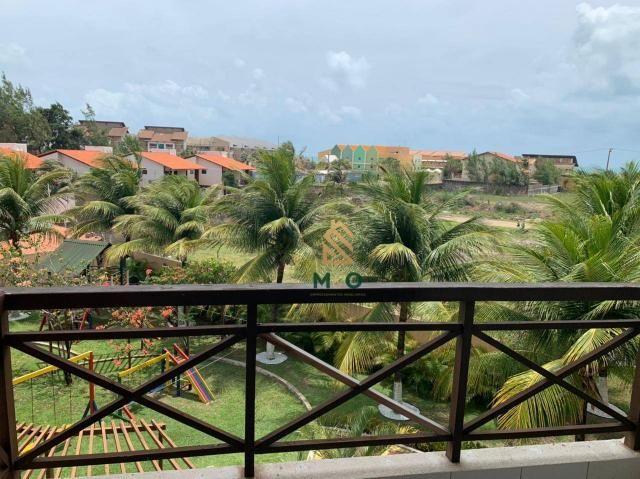 Apartamento com 1 dormitório para alugar, 52 m² por R$ 1.300/mês - Porto das Dunas - Aquir - Foto 17