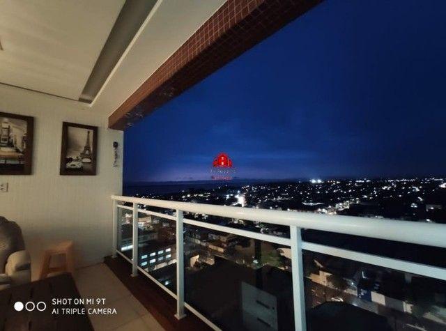 Torres Cenário,03 suítes, Lindo apartamento todo mobiliado, nascente total, Belém-PA. - Foto 10