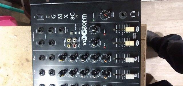 Mesa de som 8 canais  - Foto 3