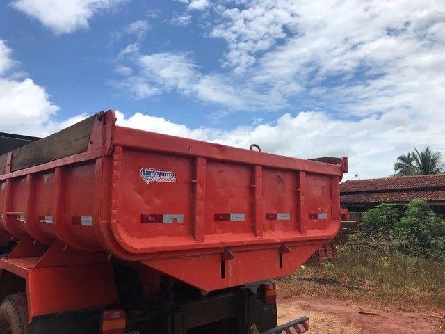 Caminhão caçamba 1113 pronto para negócio  - Foto 6