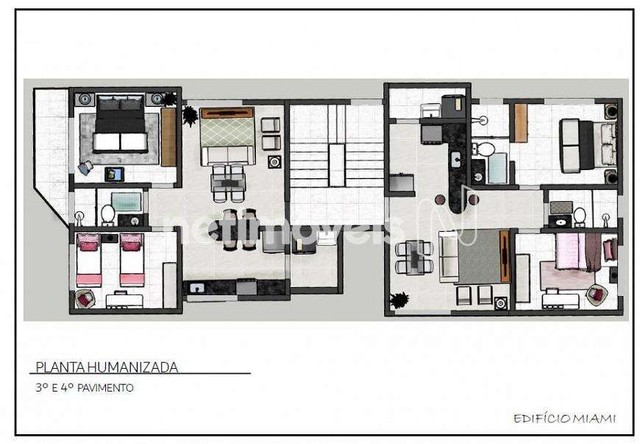 Apartamento à venda com 2 dormitórios cod:877353 - Foto 2