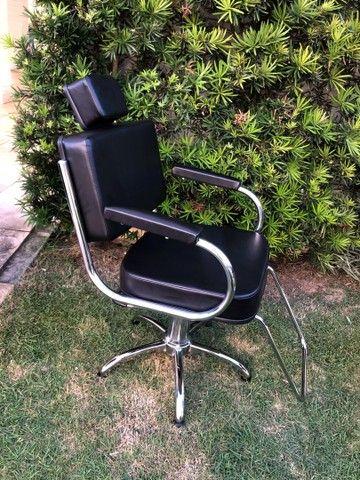 Cadeira Desktop Fixa (hidráulica)  - Foto 4