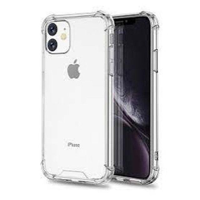 Capinha de silicone Anti Impacto + Película Vidro do iphone 6 - Foto 3