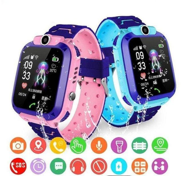 Relógio Celular Smartwatch Infantil - Foto 2