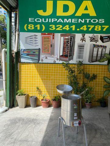 Fritadeira / fritador agua e óleo inox - vários modelos/ lanchonetes e restaurantes