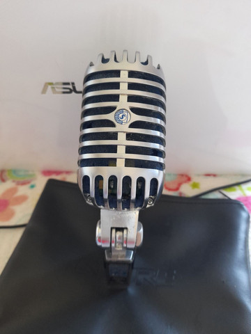 Microfone com Fio SUPER55 Deluxe Dinâmico Shure<br><br> - Foto 2