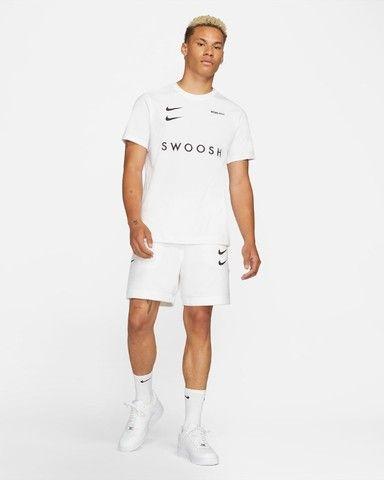 Camiseta Nike Double Swoosh Bordado Original - Foto 5