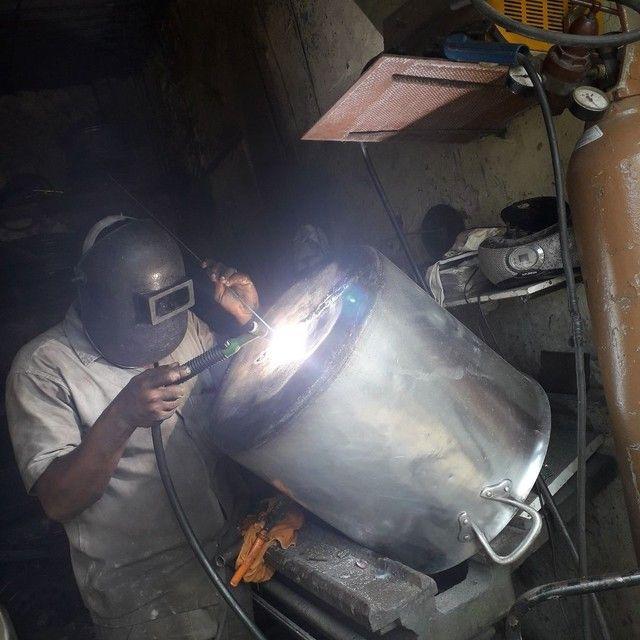 Solda em cabeçote,  rodas e pecas em geral de alumínio! - Foto 3