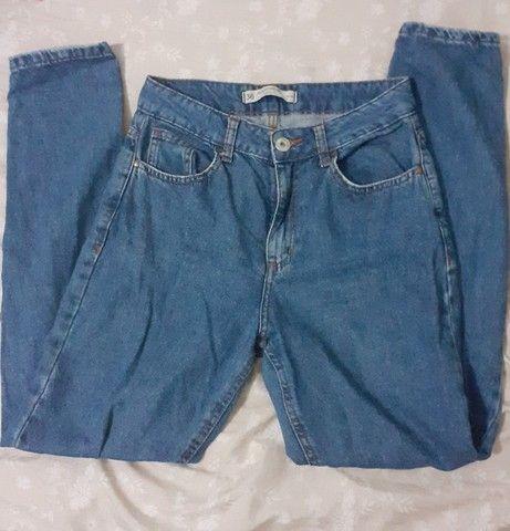 Calça Mom jeans tam 36 - Foto 2
