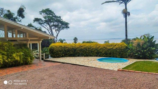 Magnifica casa residencial com praia particular para venda com 500 metros quadrados com 4  - Foto 4