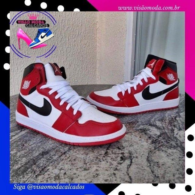 Tênis Nike Jordan 1 Masculino  - Foto 4