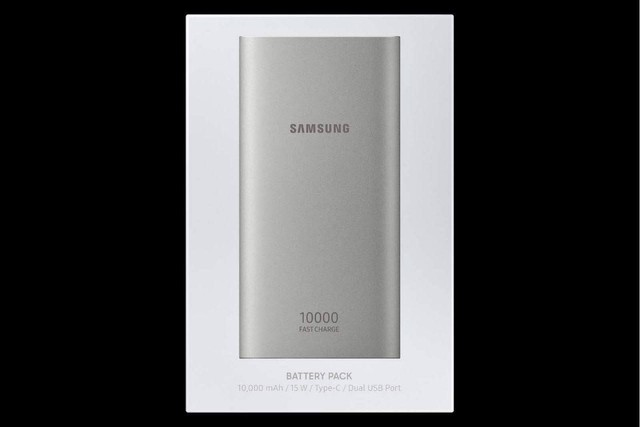 Carregador Portátil Externo Rápido Samsung 10.000mah Usb C Original NOVO - Foto 2
