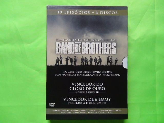 DVDs da série Band of Brothers