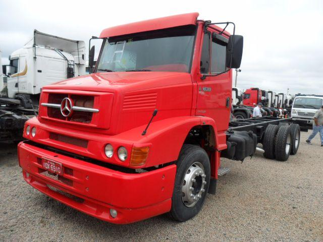 MB L 1620 6X2 CHASSIS