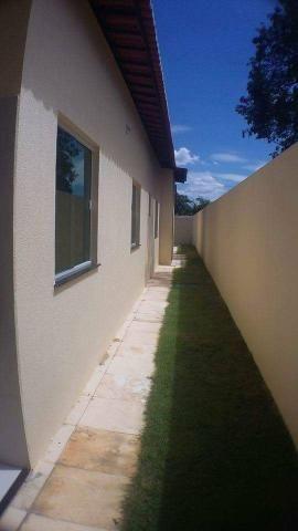 Casas planas no Eusébio, 3 quartos 2 Suites 4 vagas - Foto 11