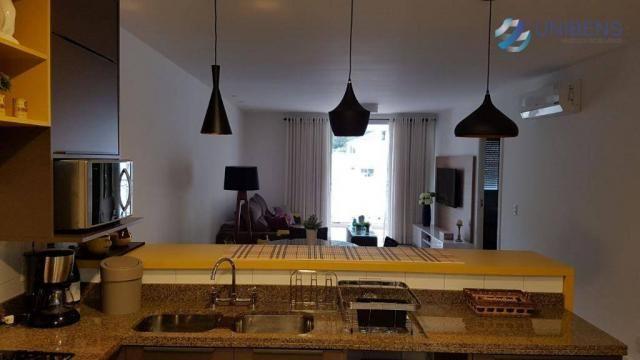 Apartamento mobiliado à venda, cachoeira do bom jesus, florianópolis, marine home resort. - Foto 4
