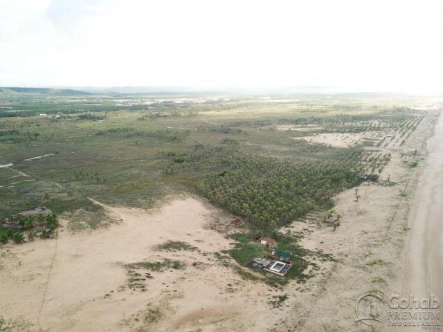 Grande área na barra dos coqueiros, a beira mar - Foto 10