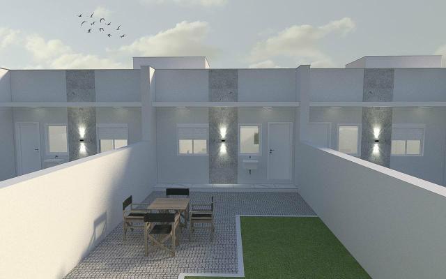 Saia já do aluguel, casas com acabamento de qualidade - Foto 3