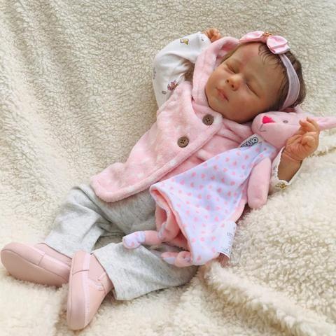 Bebê reborn olhos fechados - Foto 2
