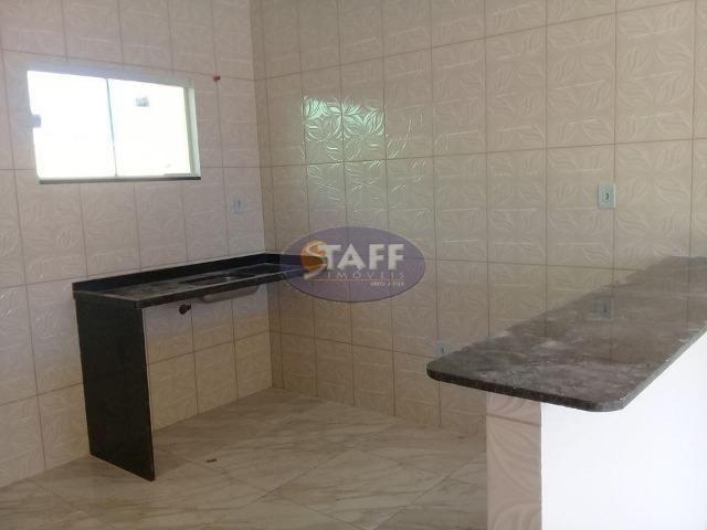 OLV-Casa com 2 dormitórios à venda, 55 m² por R$ 85.000 - Unamar - Cabo Frio/RJ CA0956 - Foto 7
