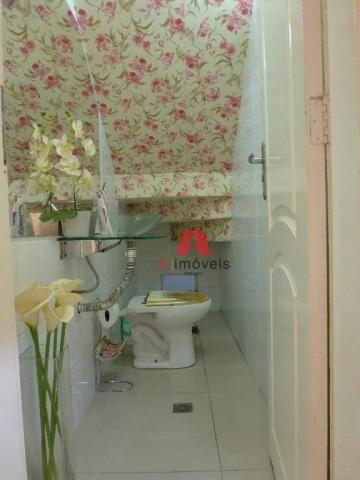 Belíssima casa em fino acabamento, com 03 dormitórios em condomínio fechado. - Foto 9