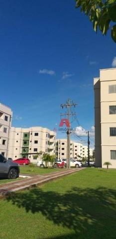 Apartamento com 2 dormitórios para alugar, 53 m² por R$ 1.225,00/mês com CONDOMINIO E IPTU - Foto 2