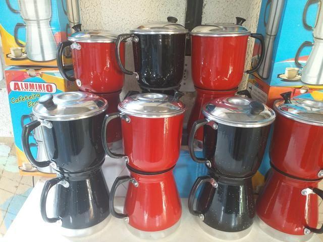 Cafeteria de alumínio varias cores
