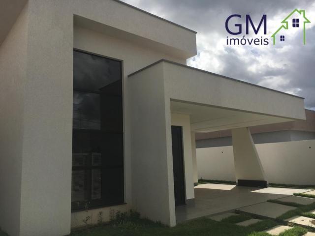 Casa a venda no condomínio alto da boa vista / 03 suítes / sobradinho df - Foto 3