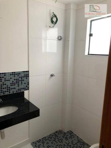 Apartamento com 2 dormitórios à venda, 75 m² por r$ 350.000 - vila camilópolis - santo and - Foto 9