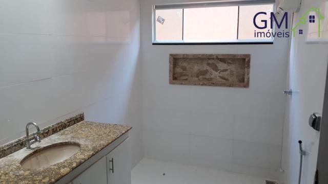 Casa a venda / condomínio jardim europa ii / 03 quartos / churrasqueira / garagem / aceita - Foto 18