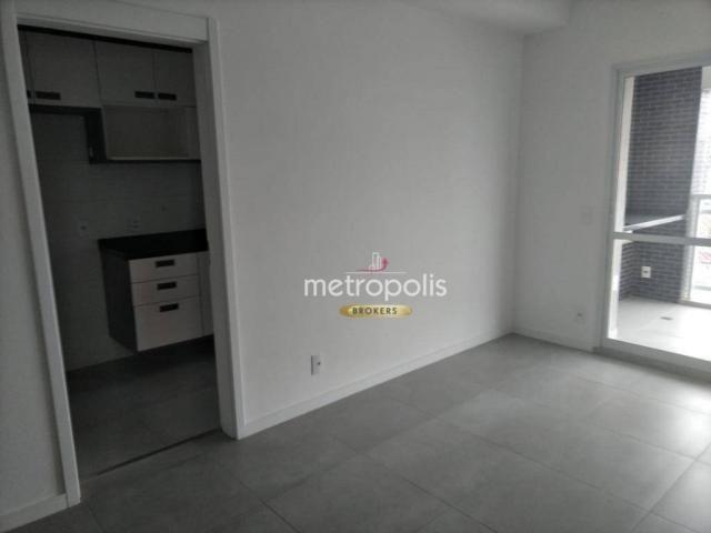 Apartamento com 2 dormitórios para alugar, 69 m² por r$ 2.500/mês - cerâmica - são caetano - Foto 2