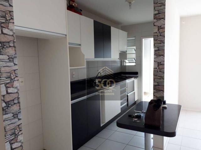 Ap0610 - apartamento com 3 dormitórios à venda, 84 m² por r$ 380.000 - nossa senhora do ro