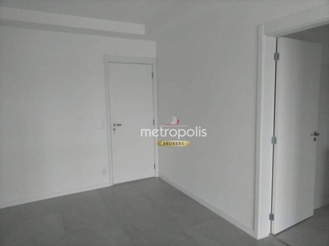 Apartamento com 2 dormitórios para alugar, 69 m² por r$ 2.500/mês - cerâmica - são caetano - Foto 6