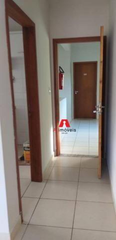 Apartamento com 2 dormitórios à venda ou locação, 71 m² por r$ 280.000 - portal da amazôni - Foto 14