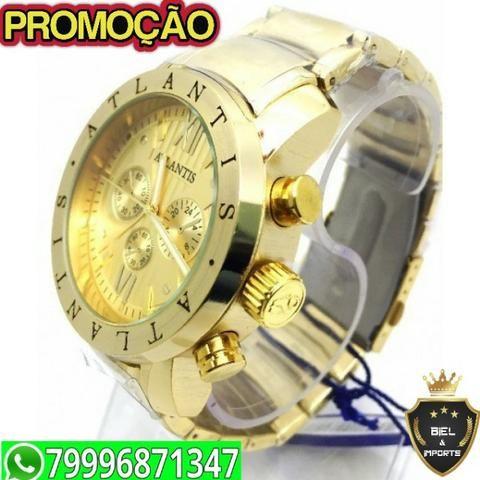 a83c127f17d Relógio Atlantis Original Modelo Bvlgari 996871347