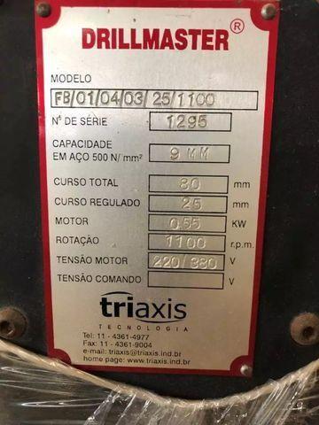 Gabarito Automatizado de Furação Multipla de Capacetes - #4596 - Foto 5