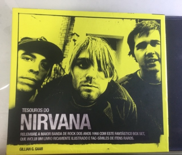 Box tesouros do nirvana