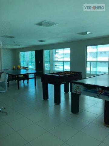 Apartamento com 2 dormitórios para alugar, 99 m² por R$ 3.100,00/mês - Canto do Forte - Pr - Foto 10