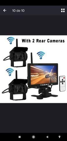 Camera de ré para pick up, caminhão, onibus,etc - Foto 6