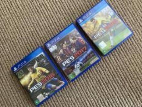 3 jogos PES para PS4