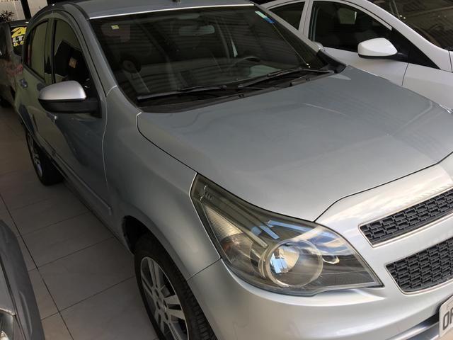 GM - ÁGILE LTZ 1.4 ano 2013, pneus novos, REVISADO, ÚNICA DONA - Foto 2