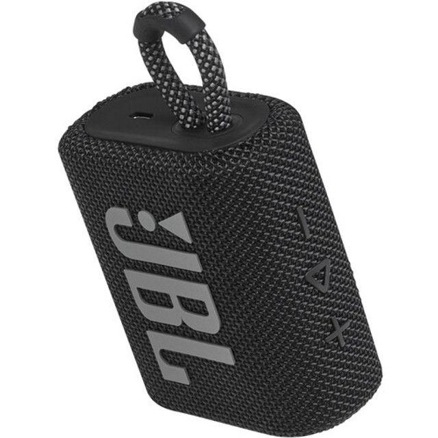 Caixa de Som JBL Go 3 Portátil Bluetooth 5.1 A Prova D'agua Original Lançamento - Foto 2
